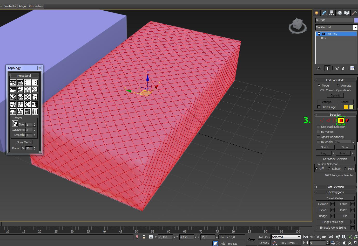 Пробуем полигональное моделирование