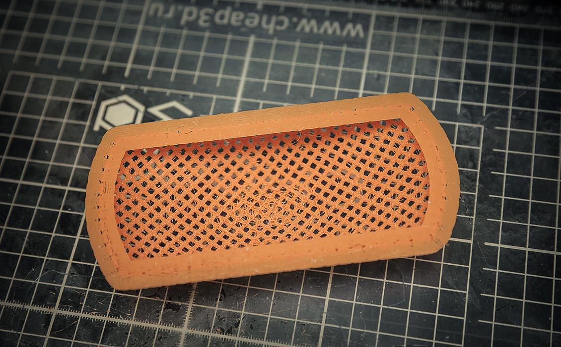 Тестовая 3d печать на 3d принтере Cheap3d V300 часть 3